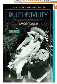 rules of civility 2013 Reading List