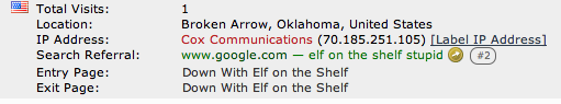 elf 13 Google Searching for Elf on the Shelf