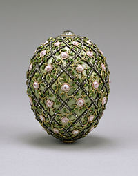 200px House of Fabergé   Rose Trellis Egg   Walters 44501 You Will Like This